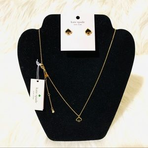Kate Spade ♠️ Necklace & Earring set